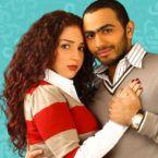 تامر حسني يتحدث اللهجة السورية ويحضن مي عز الدين - صور