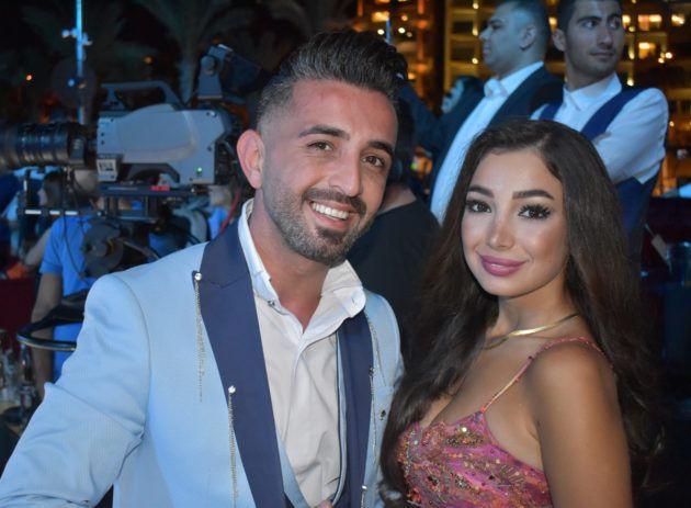 داني عبد الخالق وصديقته