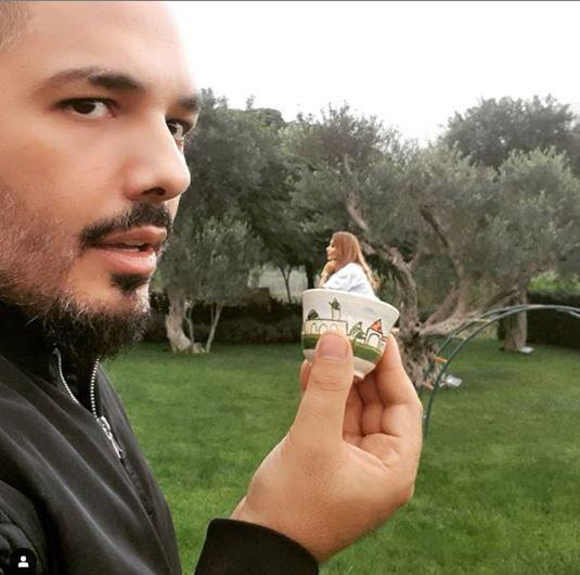 رامي عياش والخدعة البصرية