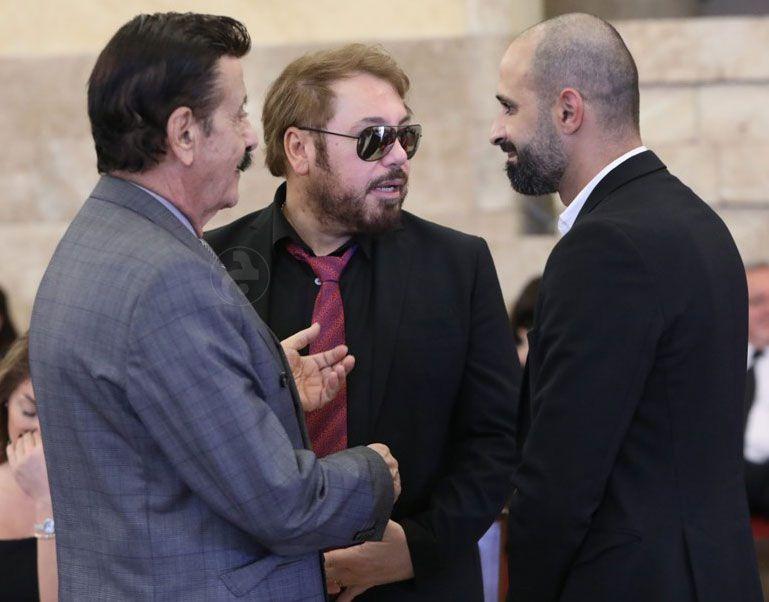 سمير حنا الدكتور هراتش والزميل وائل صقر