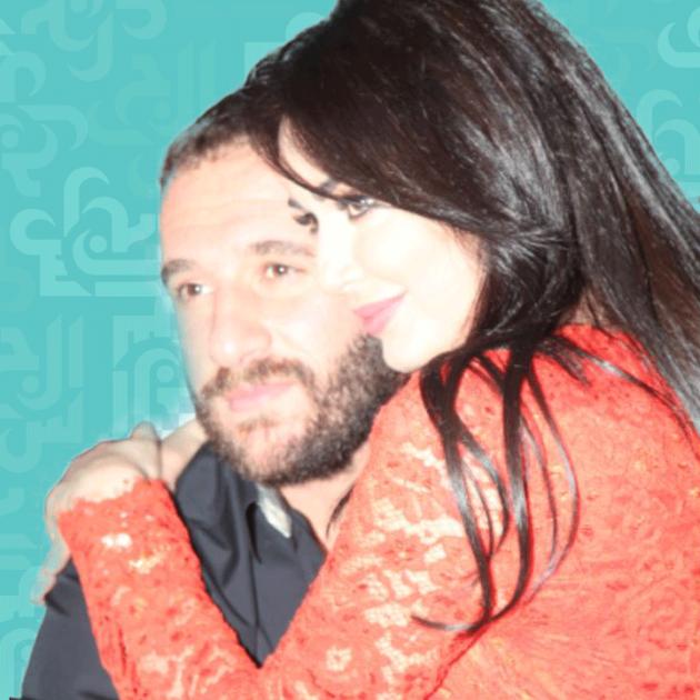 سيرين عبد النور في أحضان زوجها أمام كاميرا الجرس - صور