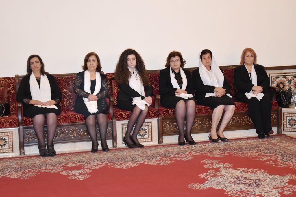 عائلة وأقارب الراحلة سمر الأحمدية