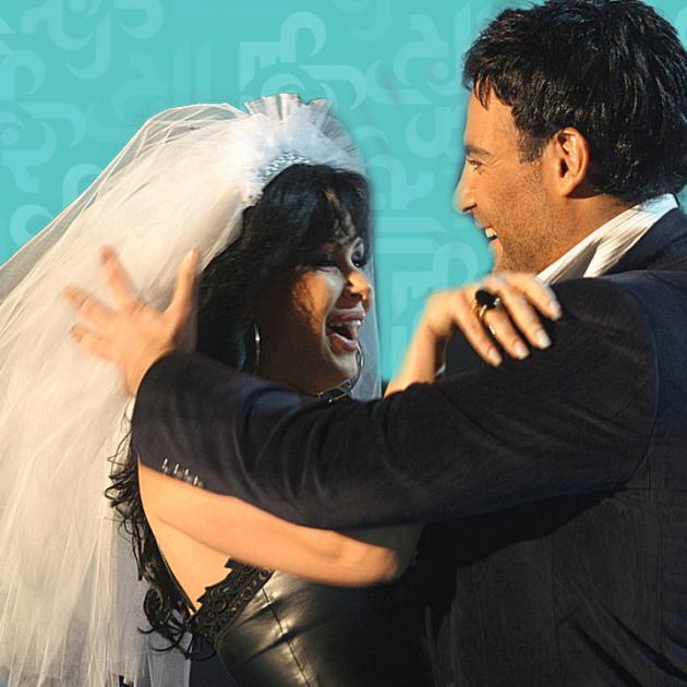 لقطة رومانسية بين عاصي الحلاني وزوجته من داخل المنزل - فيديو