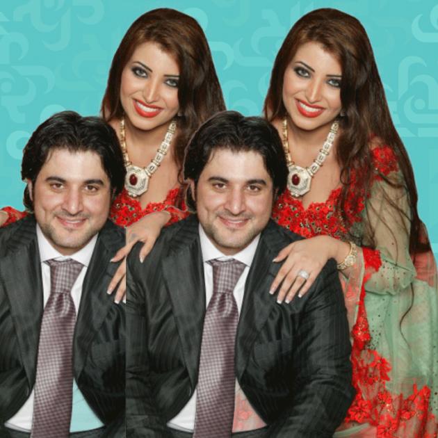 ملحم-زين-وزوجته اليمنية تماني