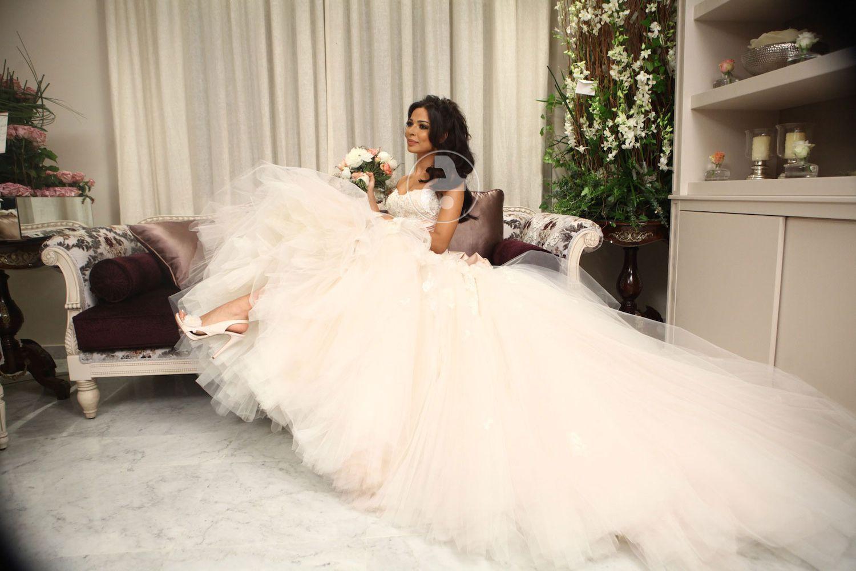 نادين نجيم وجلسة تصوير يوم عرسها