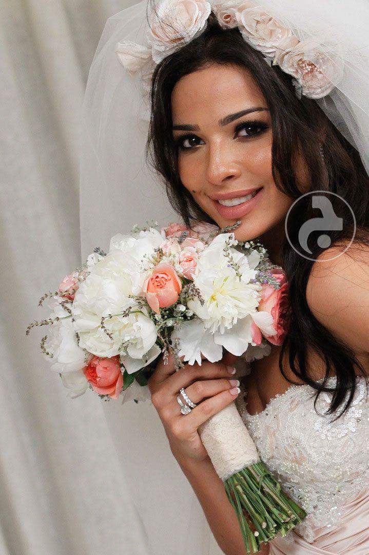 نادين نجيم يوم زفافها
