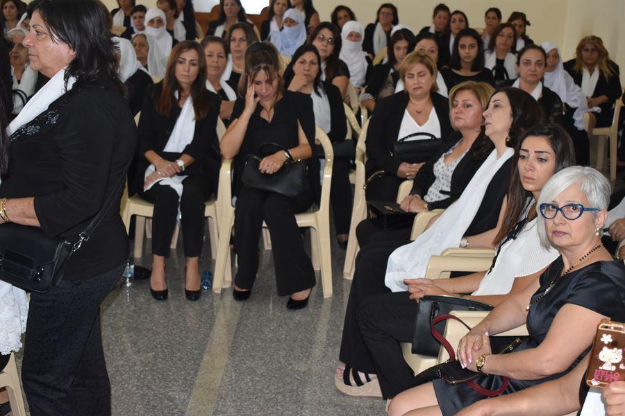 هيئات تربوية من كل لبنان يعزون بالدكتورة سمر الأحمدية