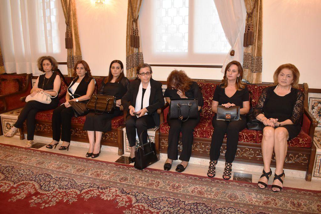 وفد من الجامعة اللبنانية الفرع الثاني