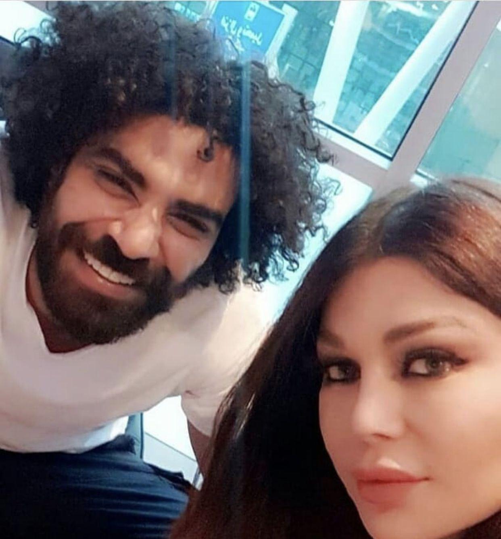 هيفا ومحمد وزيري