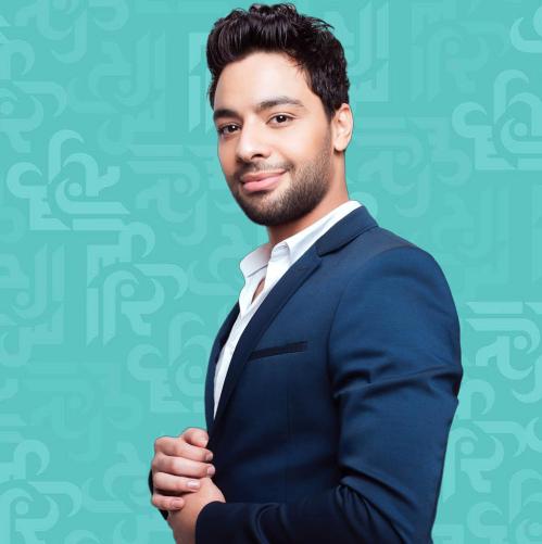 أحمد جمال في كواليس كليبه الجديدة