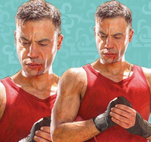 محمد إمام كاد يغرق والمشهد الأصعب - صورة