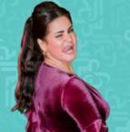 سما المصري بالحجاب وتظهر تضاريسها؟ - صورة