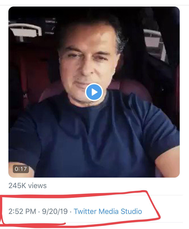 اريخ ولحظة نشر فيديو راغب علامة