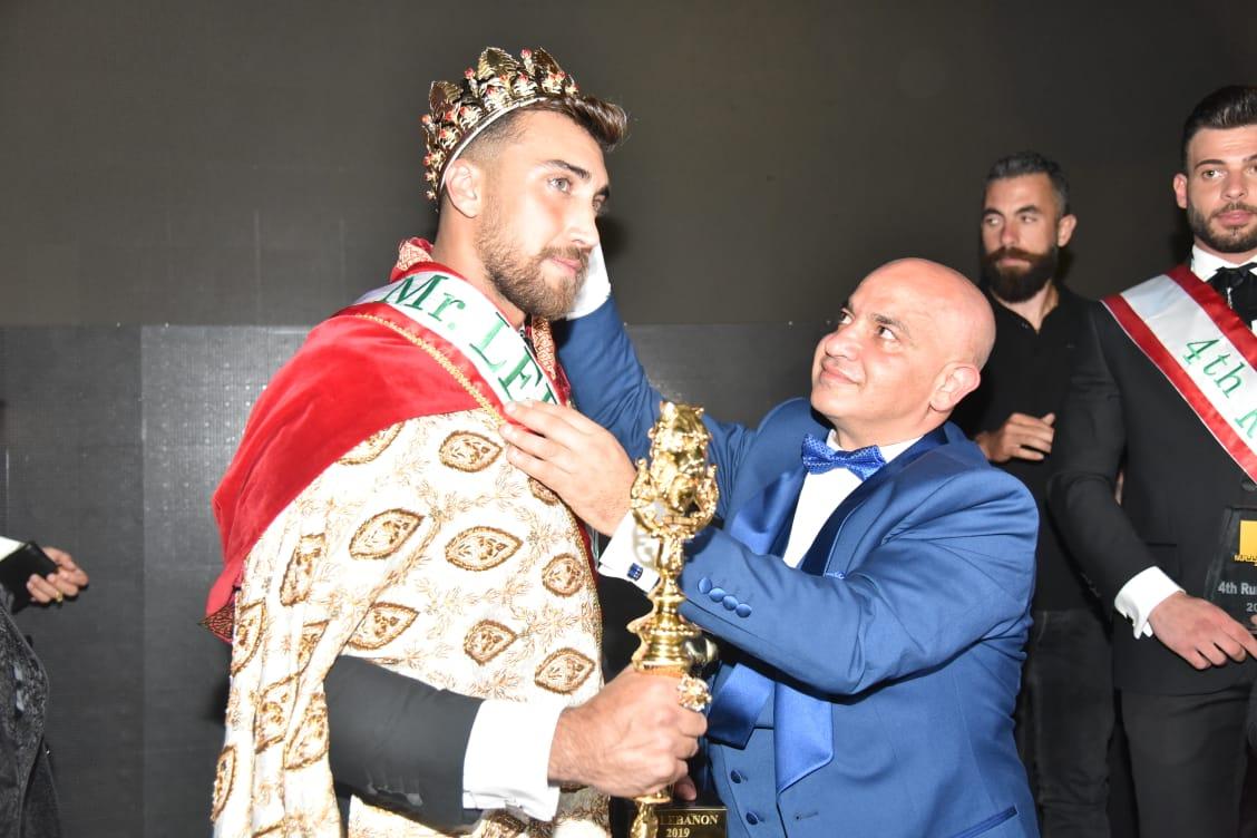 نضال بشراوي وملك جمال لبنان للعام 2020
