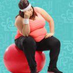السمنة مرض مزمن