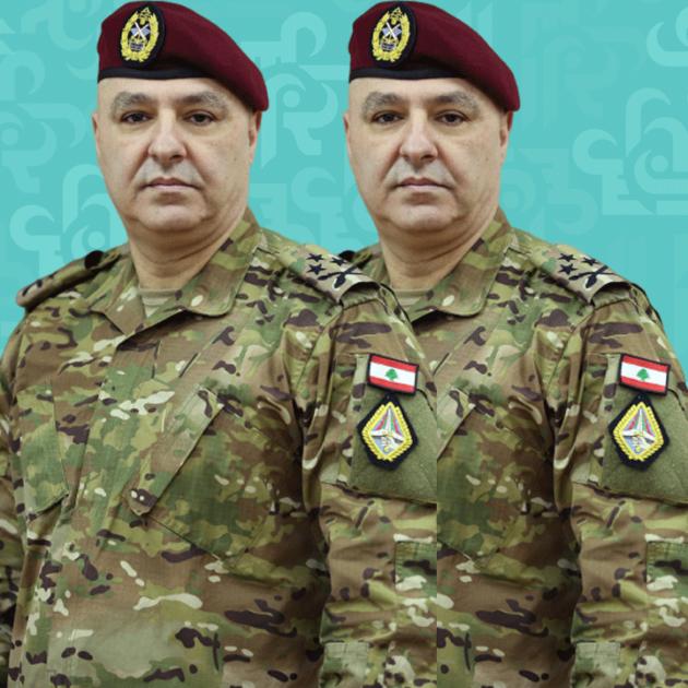 السفير القطري وقائد الجيش تفقدا المستشفى الميداني القطري