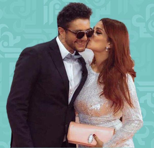 هكذا قبل أحمد الفيشاوي زوجته