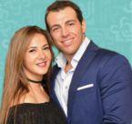 دنيا سمير غانم سعيدة مع زوجها! - صورة