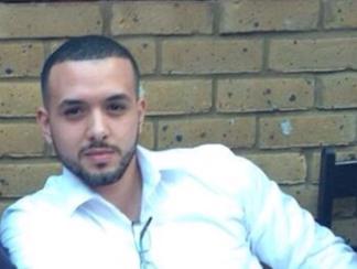 أخ هيثم أحمد زكي - أخ هيثم أحمد زكي لأول مرة ولم يحضر جنازته – صورة