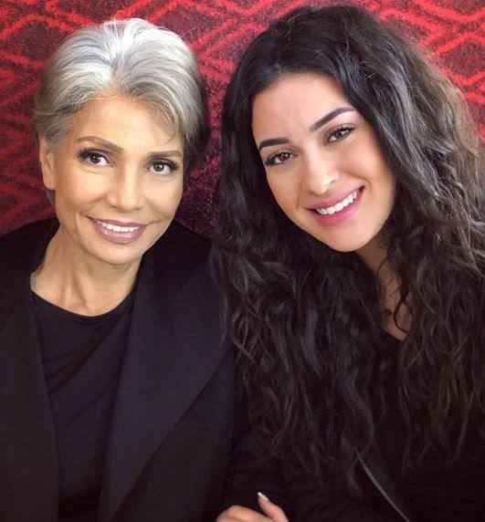 بدر وميرنا نور الدين - هذه ابنة سوسن بدر؟ – صورة