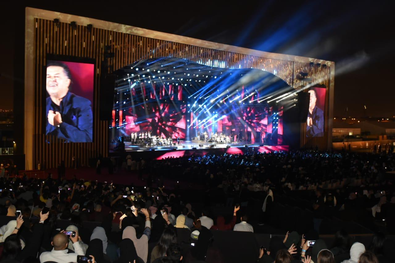أكثر من 6000 سعودي في حفل راغب علامة