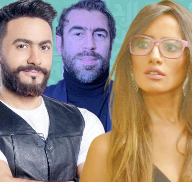 """تامر حسني ينصب وزينة تنتقم في فيلم """"الفلوس"""" وسعيد الماروق يتبرع للفقراء - صور"""