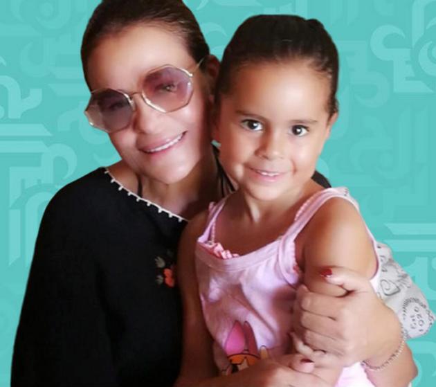 كارول سماحة تحتفل مع ابنتها وهذا عمرها الآن - فيديو