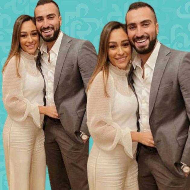 محمد الشرنوبي هكذا رقص مع زوجته وهل كان ثملًا؟ - فيديو