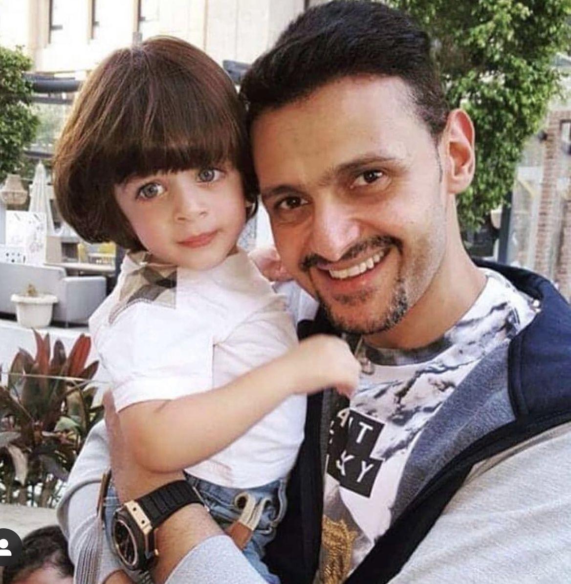 رامز جلال ابنه الأجنبي