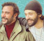 محمد إمام وكريم عبد العزيز صديقان لا يفترقان - صورة