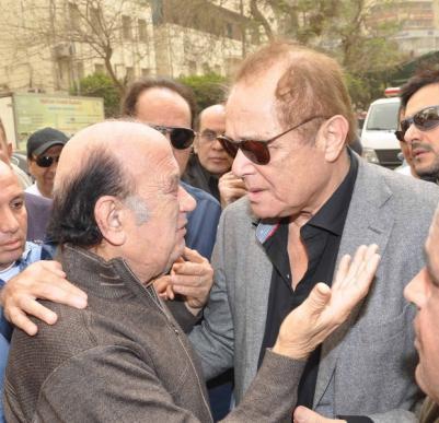 حسن حسني يشكي رحيل ابنته للراحل محمود عبد العزيز