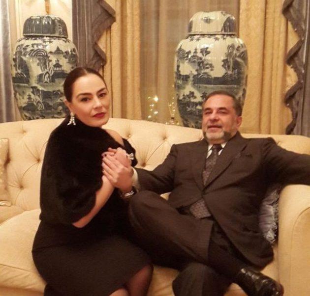 شريهان على يخت باهظ من زوجها الميلياردير اللبناني- صور