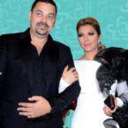 الصورة الأولى لطارق العريان مع عشيقته الممثلة المصرية