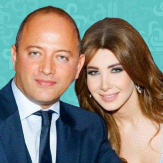 نانسي عجرم ترفع علامة النصر لأجل زوجها - صورة