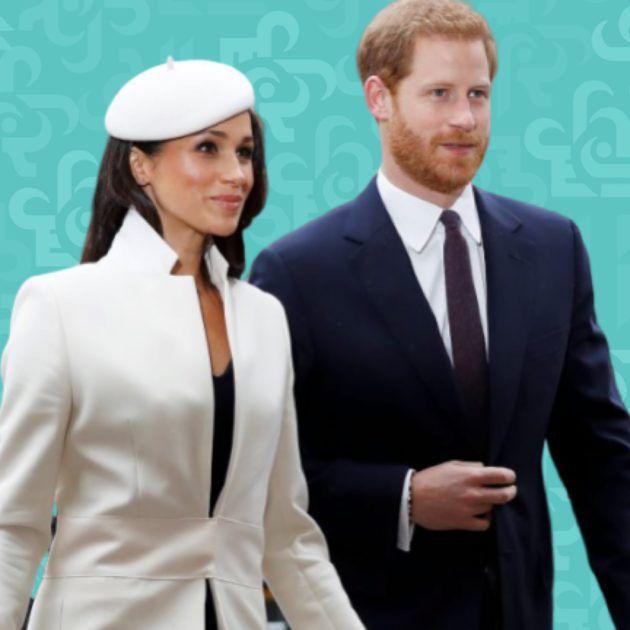 الملكة اليزابيث تعاقب الامير هاري وزوجته ميغان - صورة