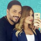 رامي عياش وزوجته والحبّ يطيل عمر المتزوجين! - صورة