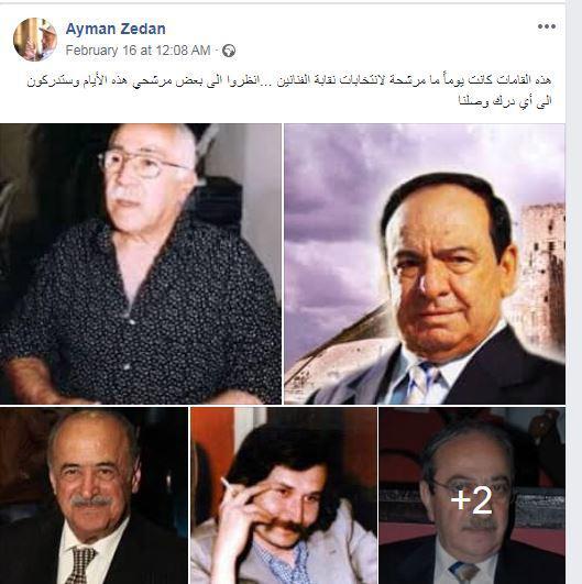 ما قاله أيمن زيدان