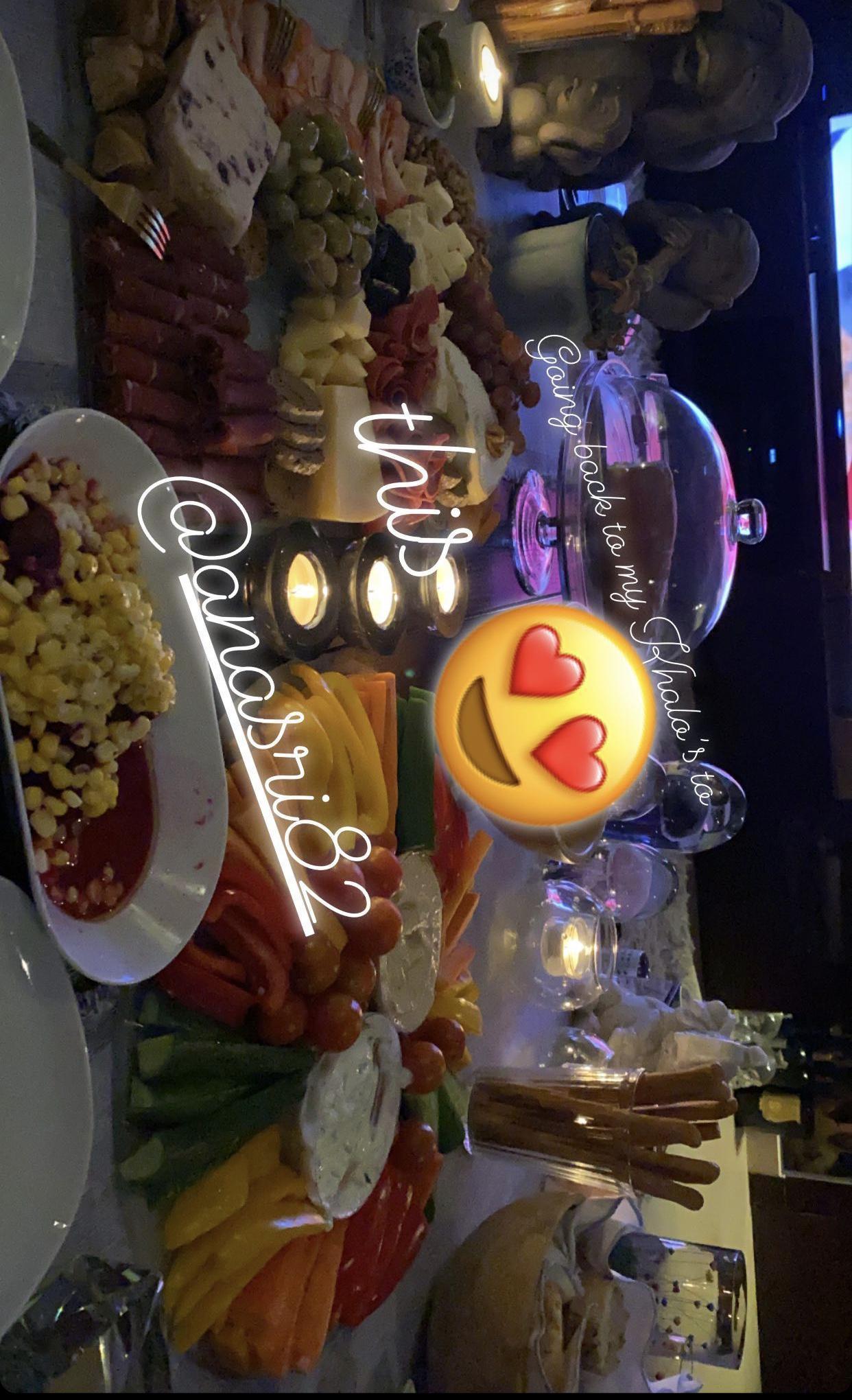 شام الذهبي وعشاء رومانسي في منتصف الليل مع من؟ - صورة