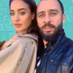 نينا عبد الملك رأت جنينها لأول مرة من زوجها السوري - فيديو