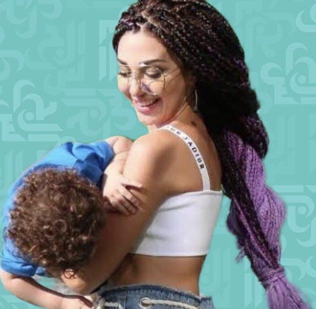 ميريام فارس وفيديو لابنها وزوجها في غرفة النوم - فيديو
