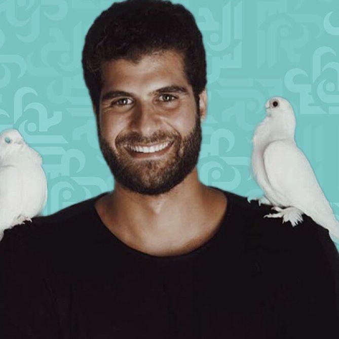 ممثل مصري صاعد نسخة عن عمر الشريف صور مجلة الجرس