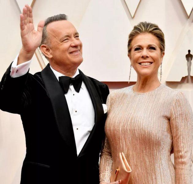 توم هانكس وزوجته يرقصان فرحًا بعد شفائهما وريتا تعلن عن رقمها - فيديو صور