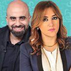 راشيل كرم وهشام حداد وتراشق اتهامات