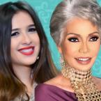 ياسمين عبد العزيز تغمر سوسن بدر