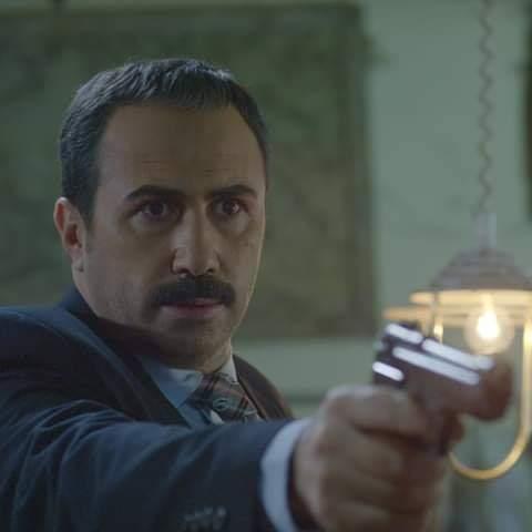 خالد القيش بشخصية العميد عصام من مسلسل دقيقة صمت