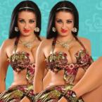 صافيناز بالبيكيني وصدرها العارم - صور
