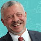 ملك الأردن: لا إصابات جديدة والحياة تعود لطبيعتها