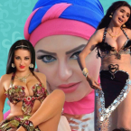 صافيناز عارية وميار الببلاوي تقصف دينا ونشوى مصطفى تقصف ميار - صورة