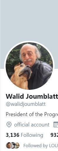 وليد جنبلاط يتابع الآلاف وتيم حسن ليس من ضمن القائمة