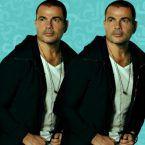 سرقة فيلا عمرو دياب وكيف اعترض؟